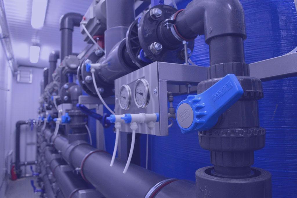 Интернет магазина для компании «Веолия», занимающиеся продажей и монтажом систем водоподготовки и водоснабжения.
